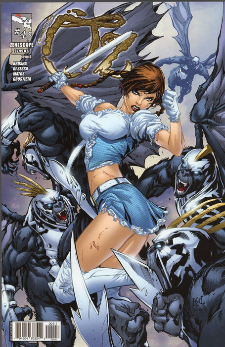 Zenescope Oz Issues 2, 4, 5, 6