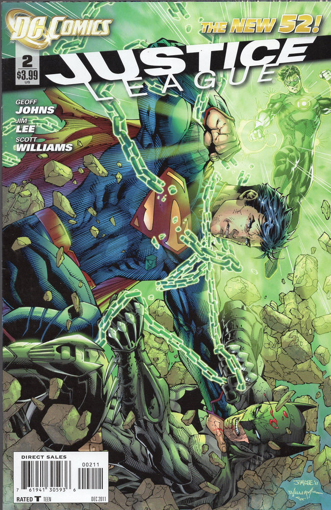 DC The New 52 Justice League Issues 2-4