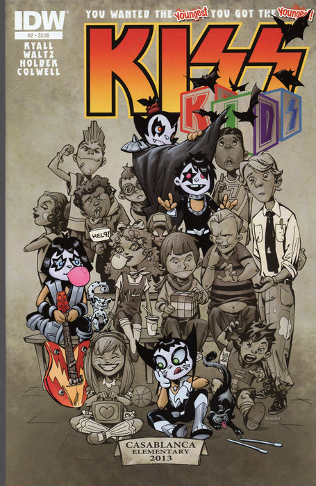 IDW Kiss Kids #2