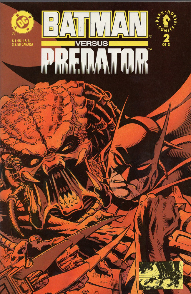 DC Batman vs Predator #2