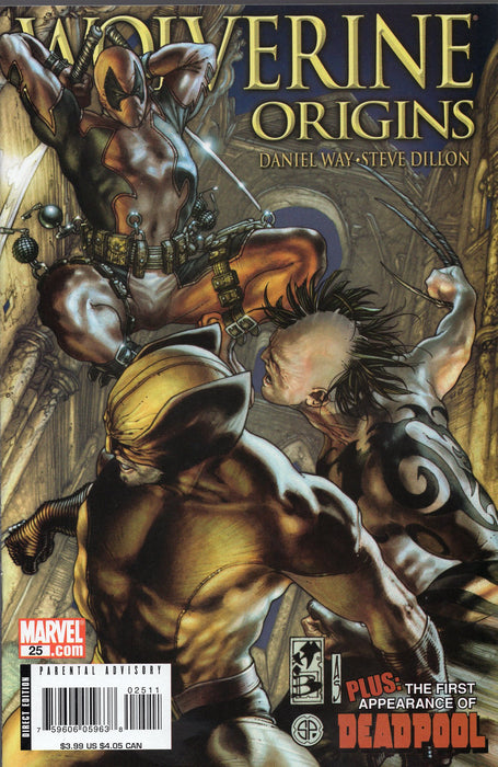 Marvel Wolverine Origins #25