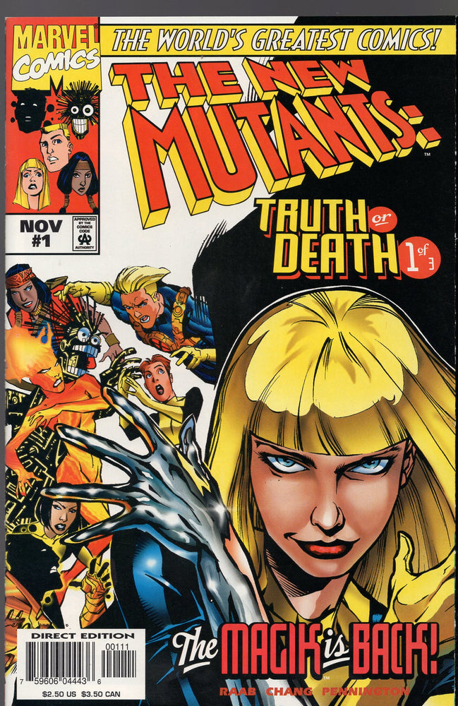 Marvel The New Mutants Truth or Death #1