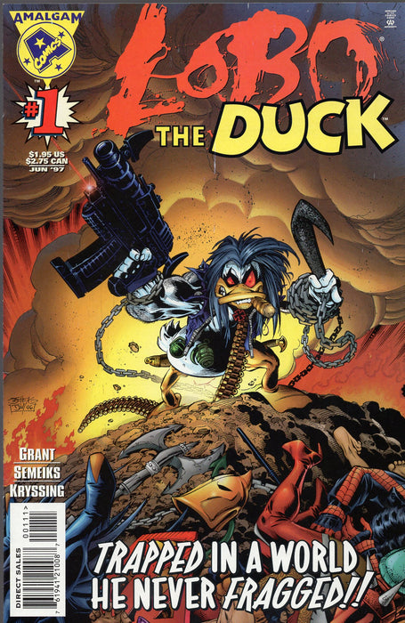 Amalgam Comics Lobo the Duck #1