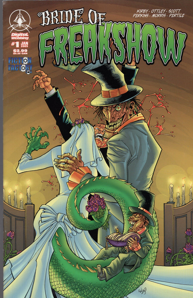 Digital Webbing Bride of Freakshow #1
