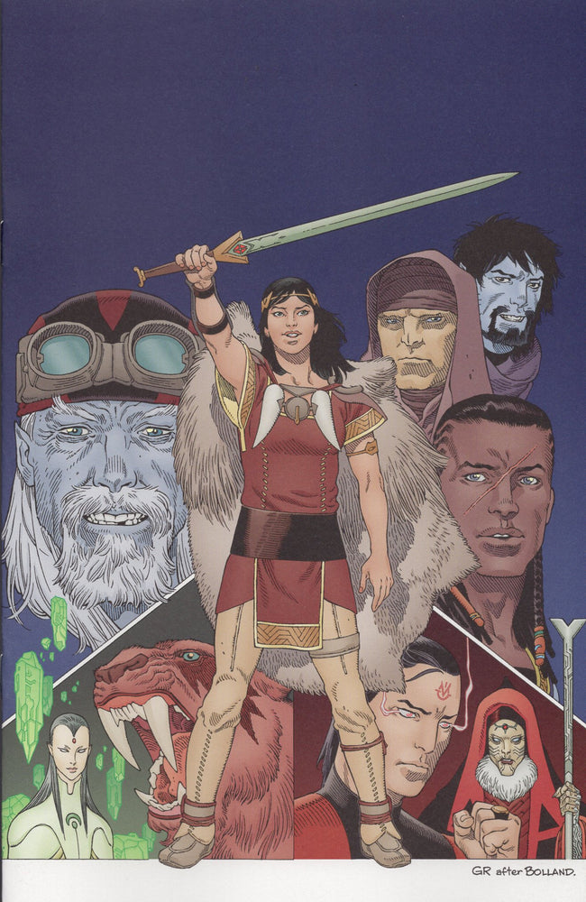 IDW Sword of Ages #1 Jetpack Comics Exclusive
