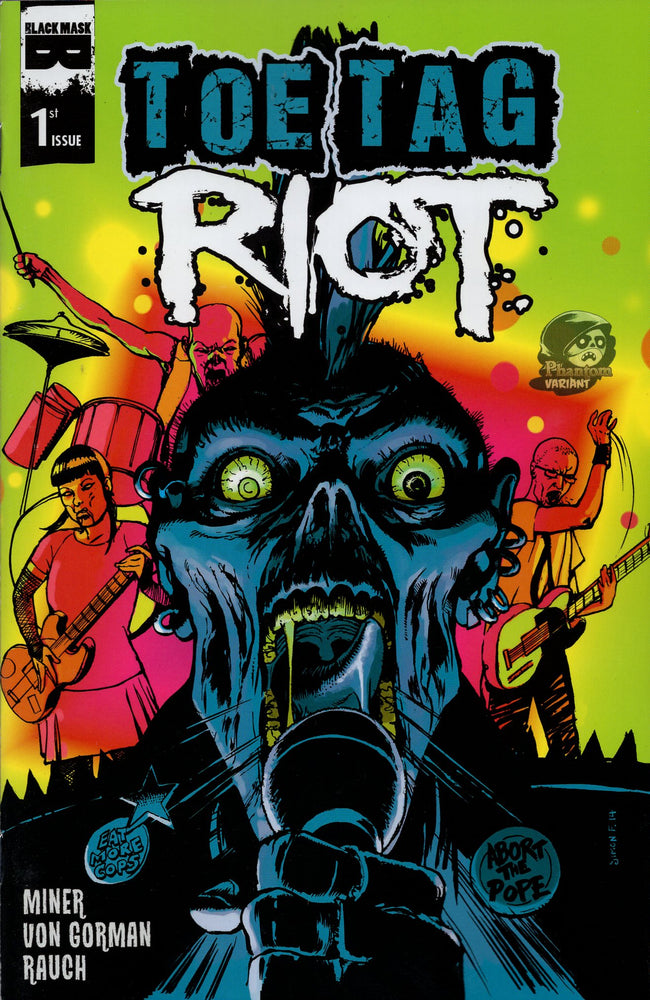 Black Mask Toe Tag Riot #1 Phantom Variant