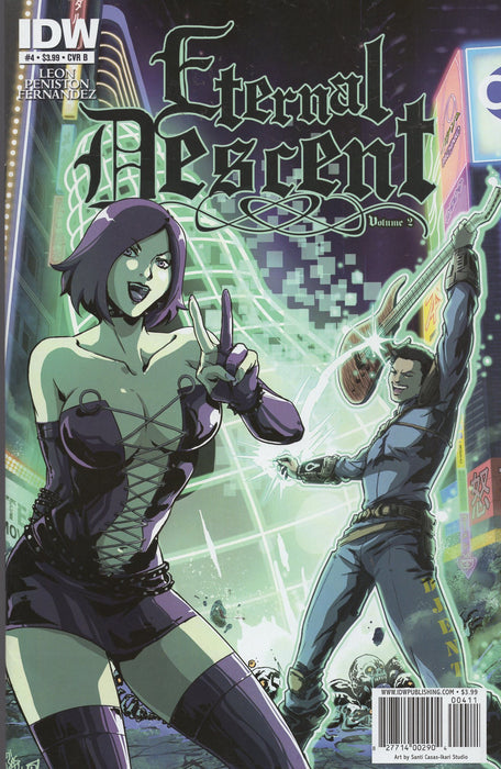 IDW Eternal Descent Issues 1-6