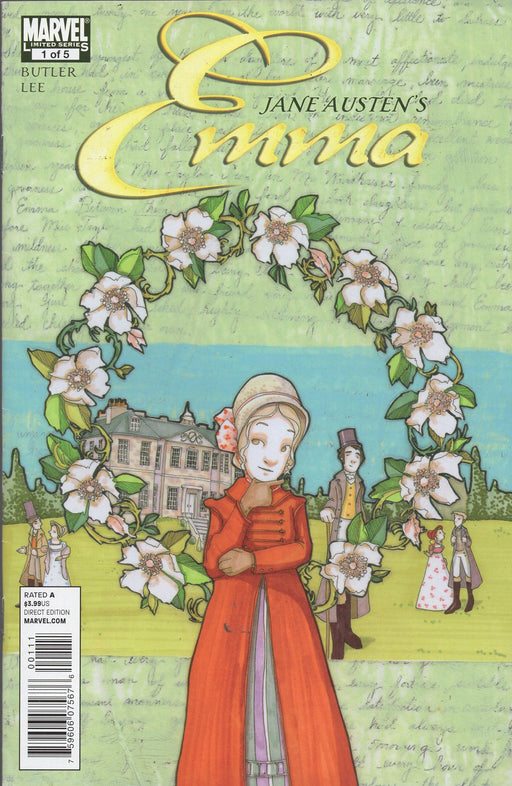 Marvel Jane Austen's Emma Issues 1-5 Full Run