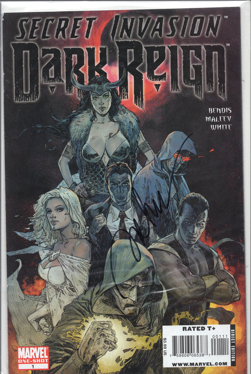 Marvel Secret Invasion Dark kReign One-Shot Signed by Alex Maleev with COA