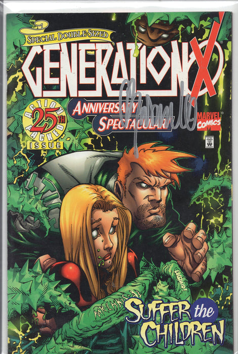Marvel Comics Generation X Suffer The Children Signed Chris Bachalo with COA