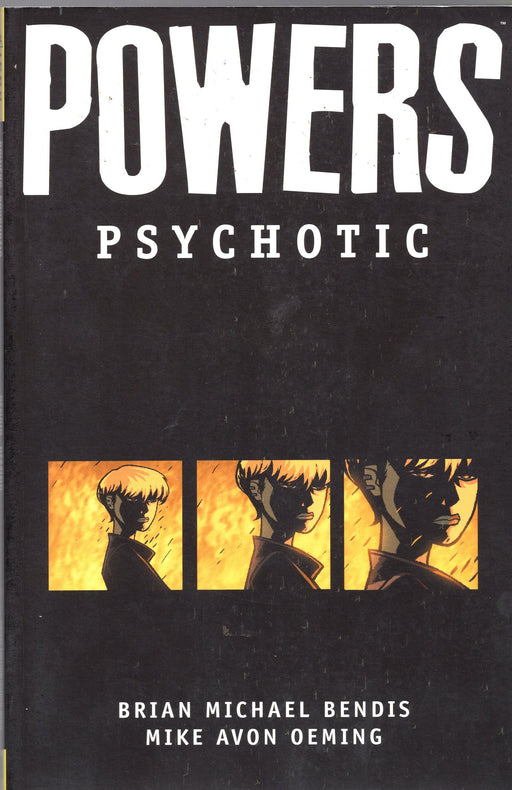 Icon Comics Powers Psychotic  Trade Paperback