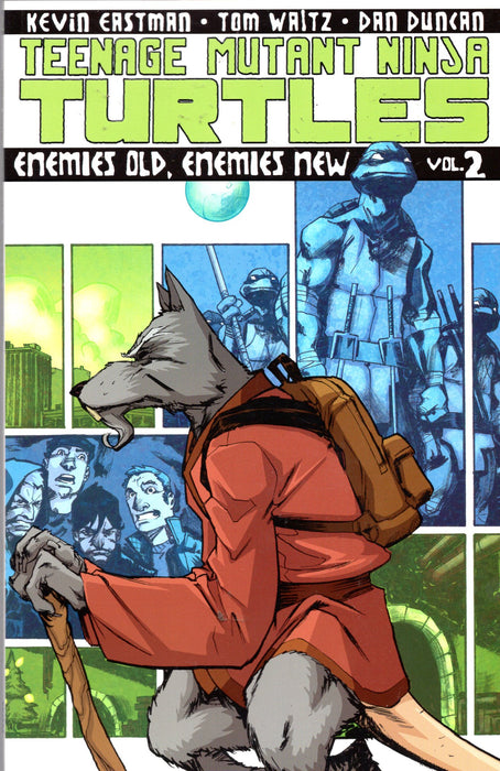 IDW TMNT Enemies Old, Enemies New Trade Paperback