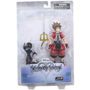 Kingdom Hearts Valor Form Sora Action Figure [Gamestop Exclusive] | Great Find Collectibles