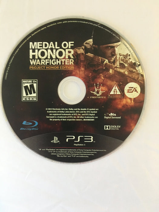 Medal of Honor Warfighter [Project Honor Edition] (PS3) | Great Find Collectibles