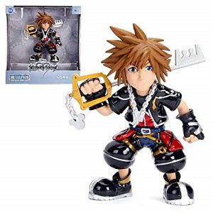 MetalFigs Kingdom Hearts Sora 6-Inch Die Cast | Great Find Collectibles