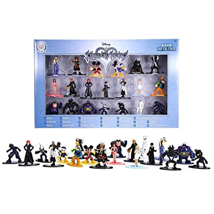 Nano MetalFigs Kingdom Hearts Die-Cast 20 Pack | Great Find Collectibles