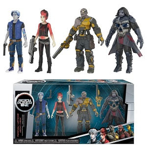 Ready Player One 4-Pack Parzival | Art3mis | AECH | I-Rok | Great Find Collectibles