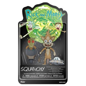 Rick and Morty Squanchy Action Figure | Great Find Collectibles