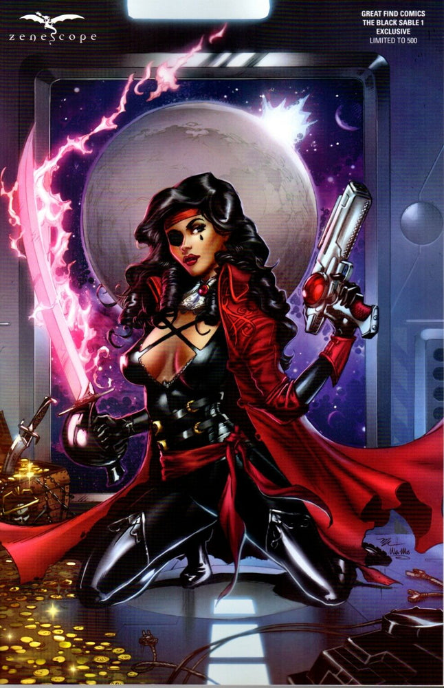Zenescope The Black Sable #1 Great Find Comics Exclusive Ltd to 500 Copies | Great Find Collectibles