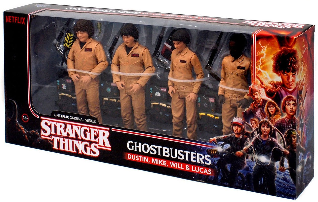 Stranger Things / Ghostbusters Action Figure Set | Great Find Collectibles
