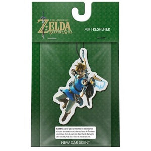 The Legend of Zelda: Breath of The Wild Link Car Freshener (New Car Scent) | Great Find Collectibles