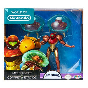 World of Nintendo 3-pack Samus Metroid Set | Great Find Collectibles
