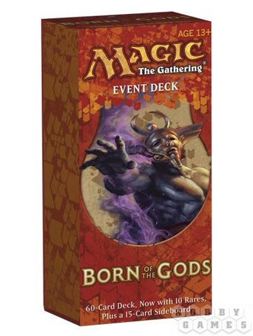 MTG: Born of The Gods. Event Deck (Порождение Богов) EN