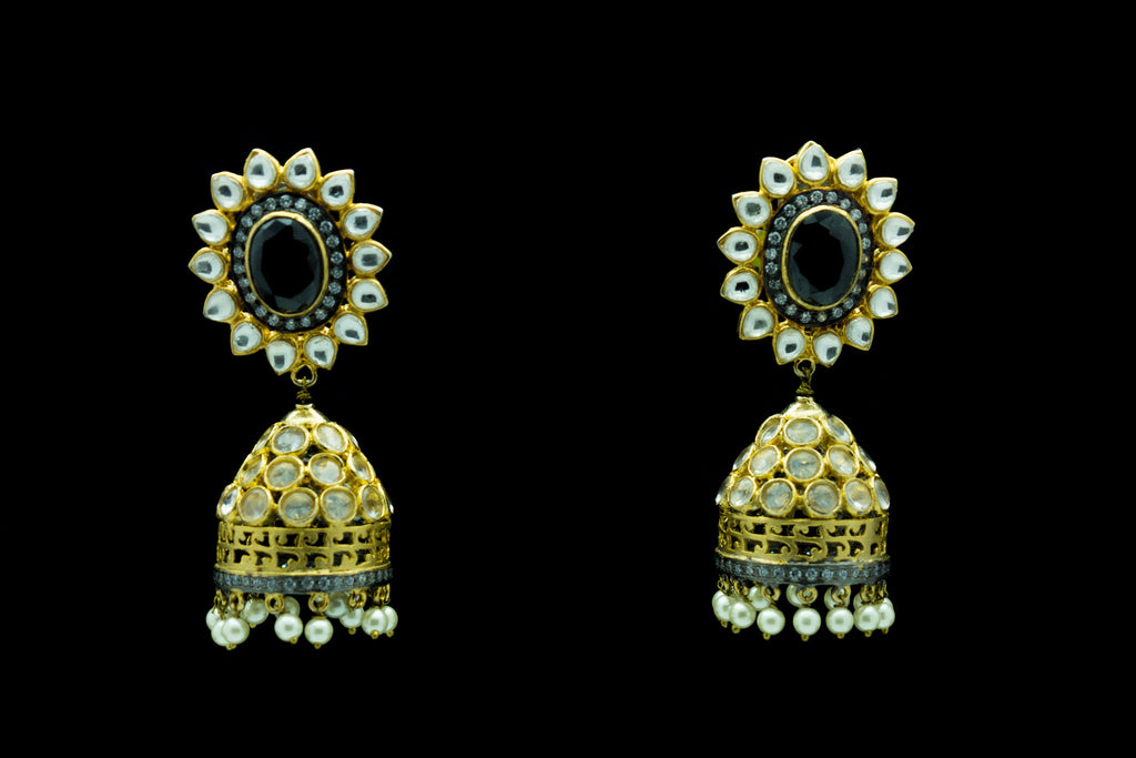 Arunima Jhumka Earrings