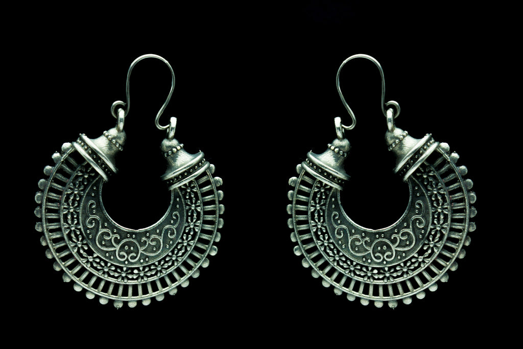 Chandrakala Chand Bali Earrings
