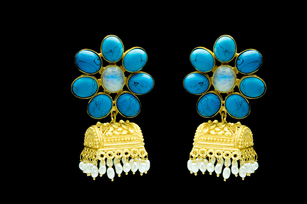 Priyadarshini Jhumka Earrings