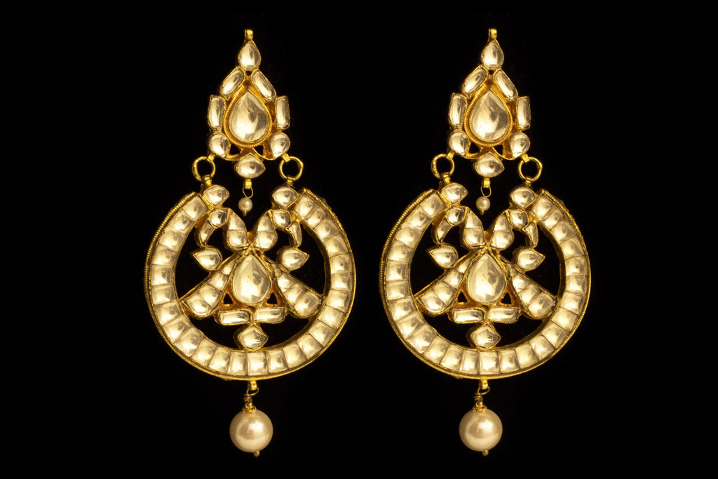 Pusti Chand Bali Earrings