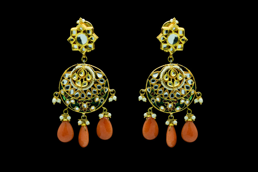 Shukla Chand Bali Earrings