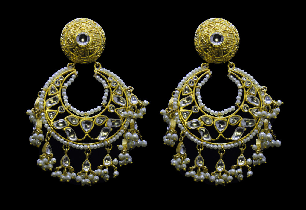 Trinetra Chand Bali Earrings