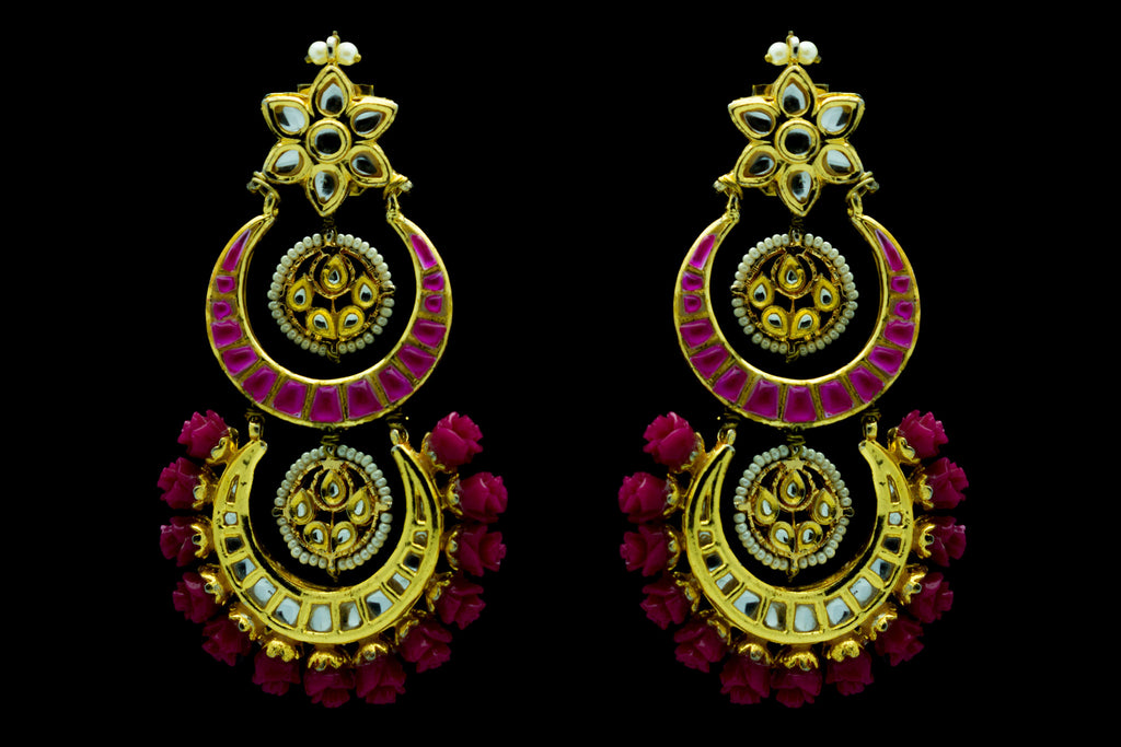 Valli Chand Bali Earrings