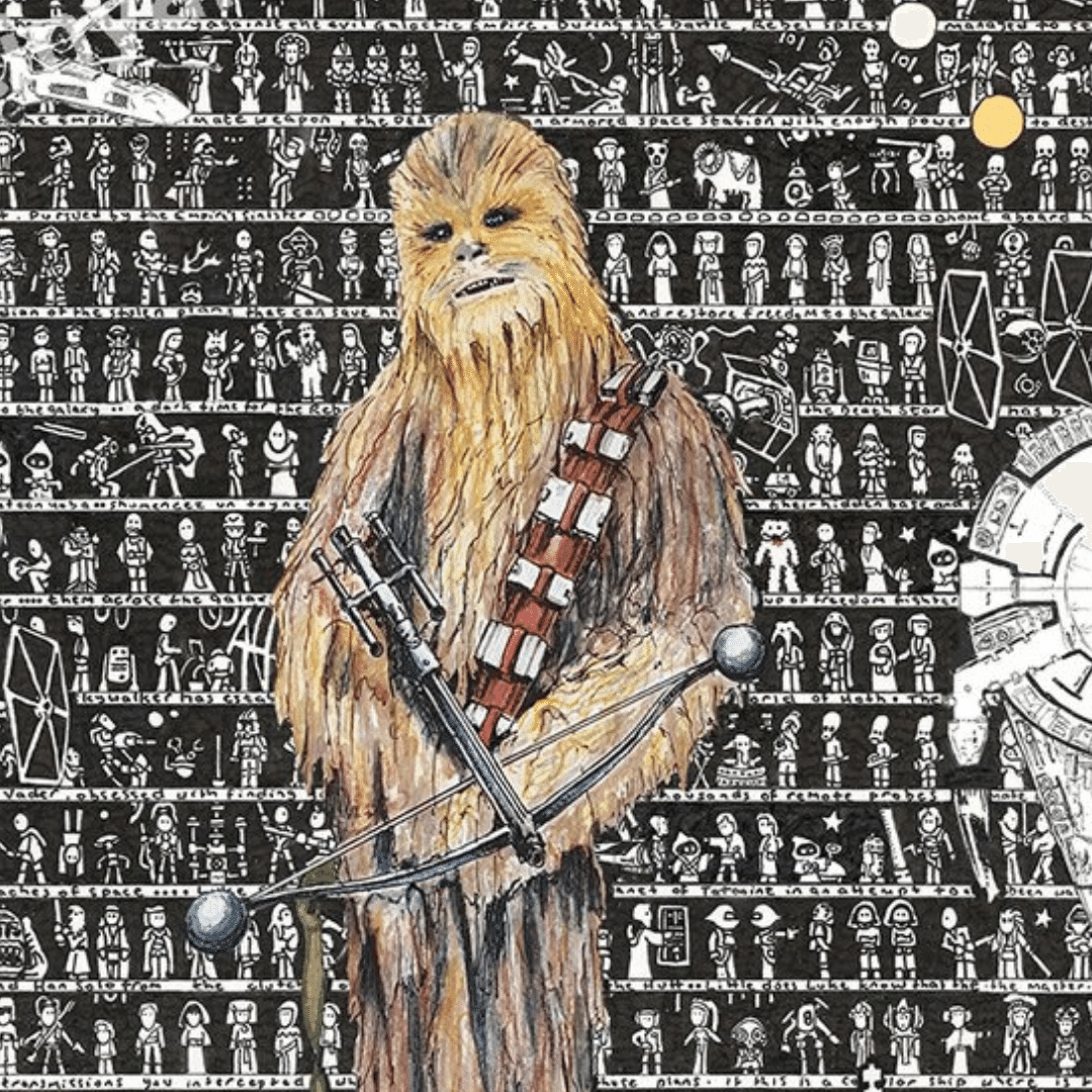 Win a Limited Edition Star Wars, Chewbacca Art - Signed by the Artist
