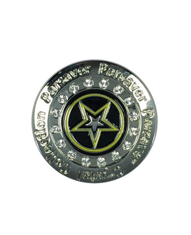 9a. Army Ball Marker embellished with crystals from Swarovski®