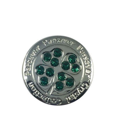 1. Clover II Golf Ball Marker embellished with crystals from Swarovski®
