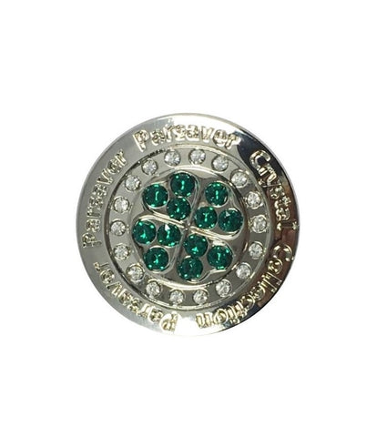 Parsaver Golf - Clover Ball Marker embellished with crystals from Swarovski®