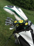 Parsaver Golf Deluxe Putter Cover - Smiley (Black)