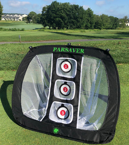 Parsaver Golf - Players Choice - Golf Chipping Net - Outdoor Indoor Hitting Net - Perfect Practice Net