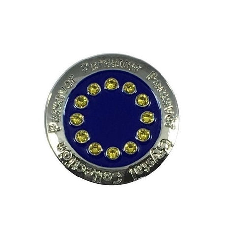 Parsaver Golf - European Ball Marker embellished with crystals from Swarovski®