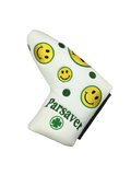 2c. Parsaver® Deluxe Putter Cover - Smiley (White)