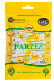 "PARTEE 2 3/4"" - Practically Unbreakable Tour Golf Tees - New!!! Fun Emoji Golf"