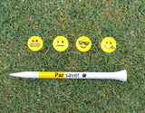 "Parsaver® Tour Series 3"" Golf tees - Emoji I"