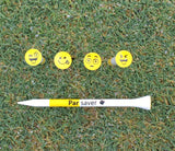 "Parsaver® Tour Series 3"" Golf tees - Emoji II"