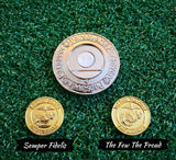 Parsaver Golf - Marines Dual Golf Ball Marker - 2 in 1 USMC Ball Markers - NEW!!!
