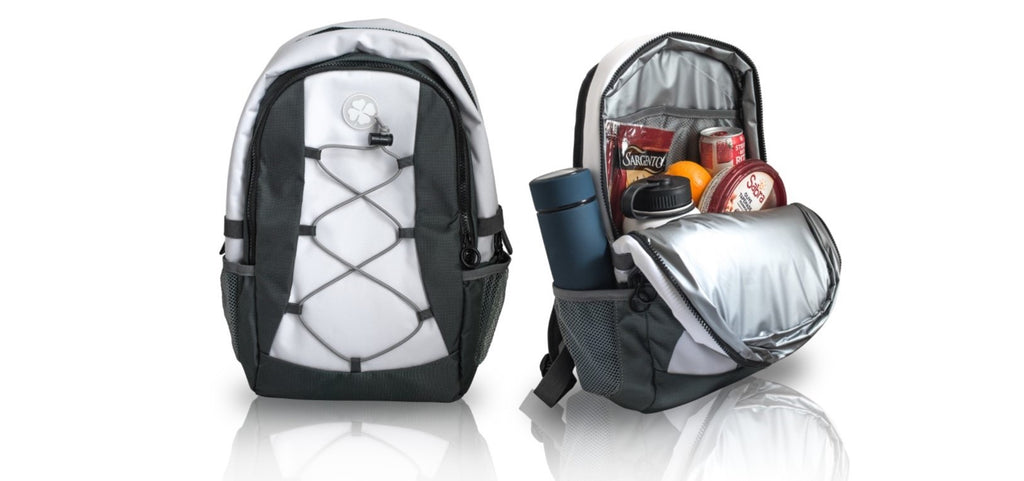 White Golf Backpack Cooler White Golf Backpack Cooler