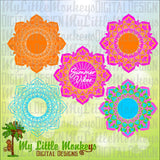 Mandala SVG ~ Mandala Monogram SVG ~ Summer Vibes svg ~ Monogram svg ~ Summer svg ~ Commercial Use SVG ~ Cut File ~ Clipart svg~dxf-eps-png