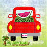 Watermelon SVG ~ Vintage Truck SVG ~ Watermelon Truck ~ Summer svg ~ Kids svg ~ Truck svg ~ Commercial Use SVG Clipart Cut File eps dxf png