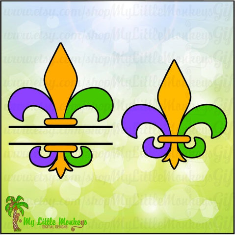 Mardi Gras Design Bundle Instant Download SVG, DFX file and High Quality 300 dpi JPEG